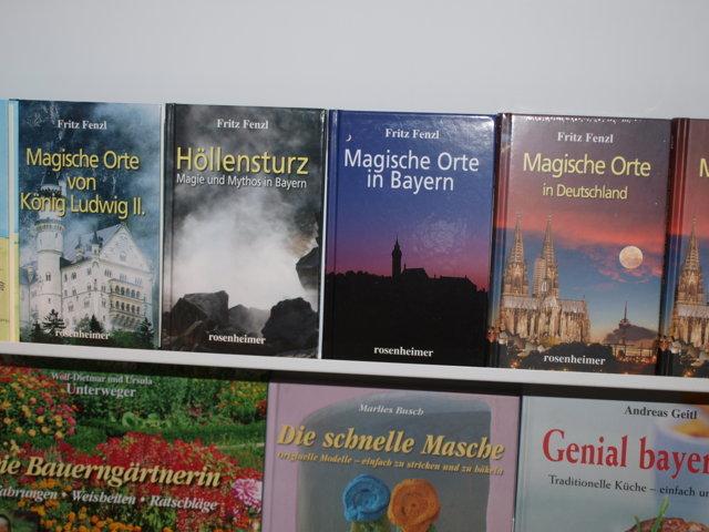 Fenzl-Bücher im rosenheimer-Verlag